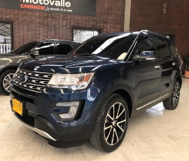 FORD EXPLORER LIMITED 2017 (Azul oxford)